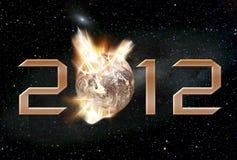 Armageddon 2012 illustrazione di stock