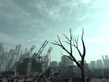 Armageddon Aftermath royalty free stock image