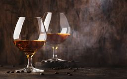 Free Armagnac, French Grape Brandy, Strong Alcoholic Drink. Still Life In Vintage Style, Selective Focus Stock Image - 151179941