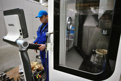 Armalit fabryka produkuje statek armaturę dla stoczniowych firm Zdjęcie Stock