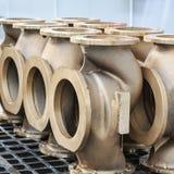 Armalit fabryka produkuje statek armaturę dla stoczniowych firm Fotografia Stock