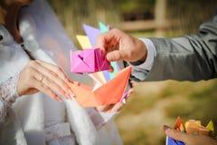 Armamentario di nozze Fotografia Stock Libera da Diritti