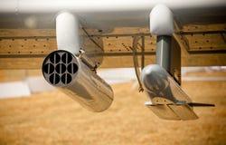Armamento de los aviones imagenes de archivo