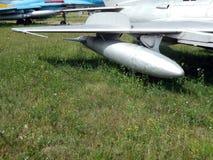 Armamento de los cohetes de los aviones y de los helicópteros fotos de archivo libres de regalías