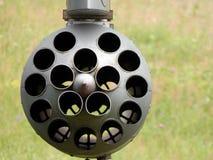 Armamento de los cohetes de los aviones y de los helicópteros fotografía de archivo libre de regalías
