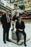 Armand LaMontagne and Bobby Orr. Stock Images
