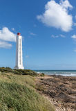 Armandeche lighthouse in Les Sables d`Olonne France Stock Photography