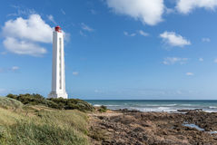 Armandeche lighthouse in Les Sables d`Olonne France Royalty Free Stock Images