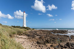 Armandeche lighthouse in Les Sables d`Olonne France Stock Image