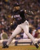 Armando Benitez, 2000 azioni di campionato di baseball Immagine Stock
