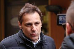 Armando Siri, Lega Nord politisch lizenzfreies stockbild