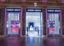 Armani store Stock Images