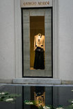 Armaniboutique Milaan Royalty-vrije Stock Foto's