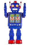 armar lyftte robottin Arkivbild