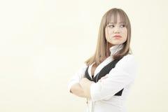 armar vek kvinnan Fotografering för Bildbyråer