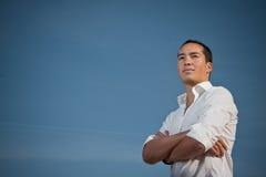armar vikt plattform ungdom fotografering för bildbyråer