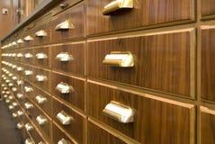 Armario de la droguería Foto de archivo libre de regalías