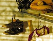 Armario del béisbol Imagen de archivo libre de regalías