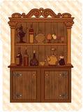 Armario del vintage Foto de archivo libre de regalías