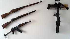 Armas Imagen de archivo libre de regalías