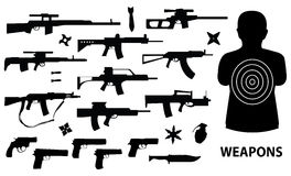 Armas Fotografía de archivo libre de regalías
