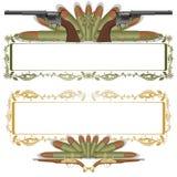 Armas antigas ilustração do vetor