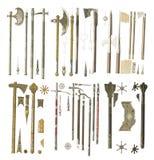 Armas da Idade Média Fotografia de Stock Royalty Free