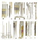 Armas da Idade Média Imagem de Stock