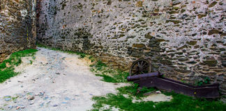Armas de fuego antiguas, preservadas hasta el día de hoy Exposición en el castillo de Bolkow Polonia Fotografía de archivo libre de regalías