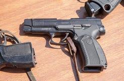 Armas de fuego rusas Pistola de Yarygin PYa, MP-443 Grach Imágenes de archivo libres de regalías