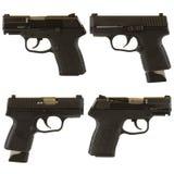 Armas de mano Imágenes de archivo libres de regalías