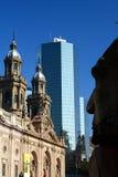 armas de plaza Σαντιάγο Χιλή Στοκ φωτογραφίες με δικαίωμα ελεύθερης χρήσης