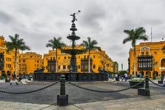 armas de plaza Στοκ Φωτογραφία