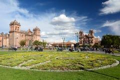 armas de plaza Cusco Περού Στοκ εικόνες με δικαίωμα ελεύθερης χρήσης