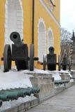 Armas del arsenal de Kremlin Imagenes de archivo