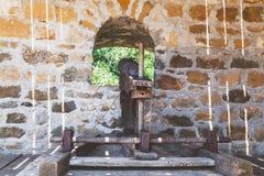 Armas del siervo del marco fijo Foto de archivo