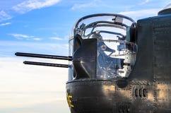 Armas delanteros B-24 Foto de archivo libre de regalías