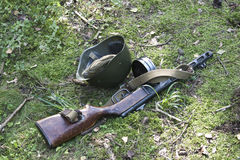 Armas e munição Foto de Stock Royalty Free