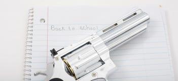 Armas en escuelas Foto de archivo libre de regalías