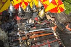 Armas medievais Imagem de Stock