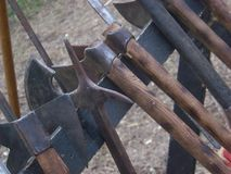 Armas medievais Imagem de Stock Royalty Free