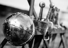 Armas medievais Foto de Stock Royalty Free