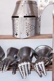 Armas medievais protetoras foto de stock royalty free
