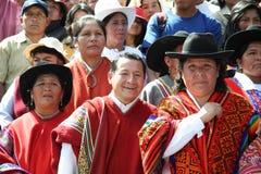 armas miasta cusco de Peru plac Obrazy Royalty Free