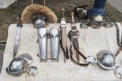 Armas romanas Imagem de Stock