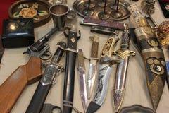 Armas viejas Imágenes de archivo libres de regalías
