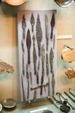 Armas viejas en museo Imagen de archivo