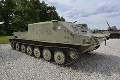 Armas y los tanques del museo de la guerra mundial Imágenes de archivo libres de regalías