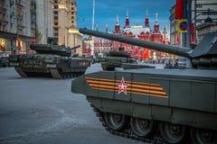 Armata T-14主要俄国坦克 库存图片