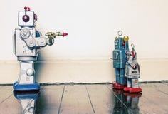 Armatni crim roboty Obraz Royalty Free